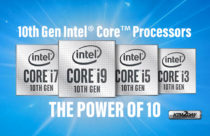 Intel unveils the 10th generation Comet Lake-H lineup, 5.3GHz at 45W