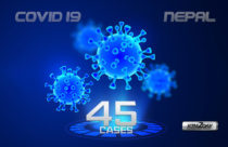 COVID-19 : 3 new cases confirmed today; Total cases climb to 45
