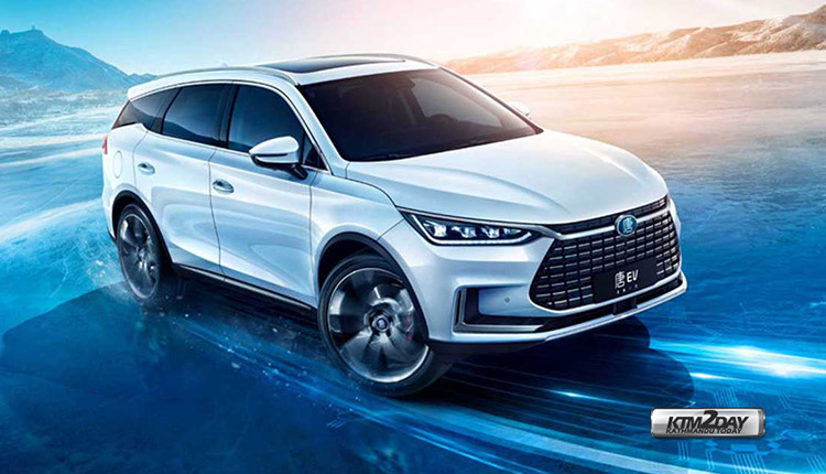 BYD Tang EV600 electric crossover