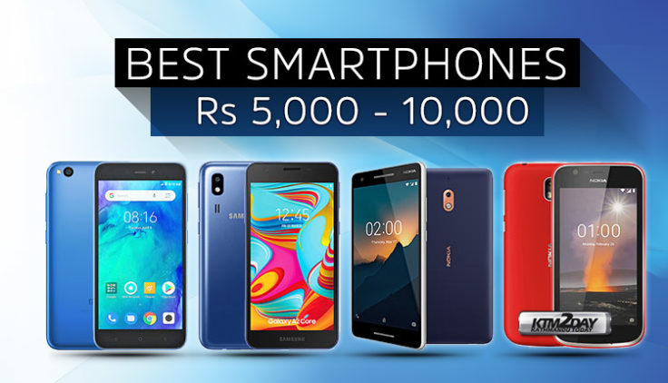 Best Mobile from 5K to 10K in Nepal