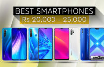Best Smartphones in Nepal (Rs 20,000 to Rs 25,000)
