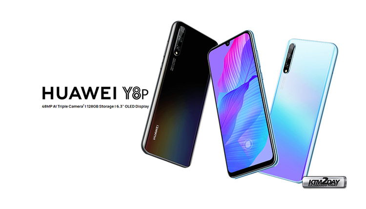Huawei Y8p Price in Nepal