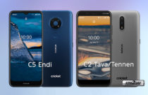 Nokia announces the new C5 Endi, C2 Tennen and C2 Tava for the US market