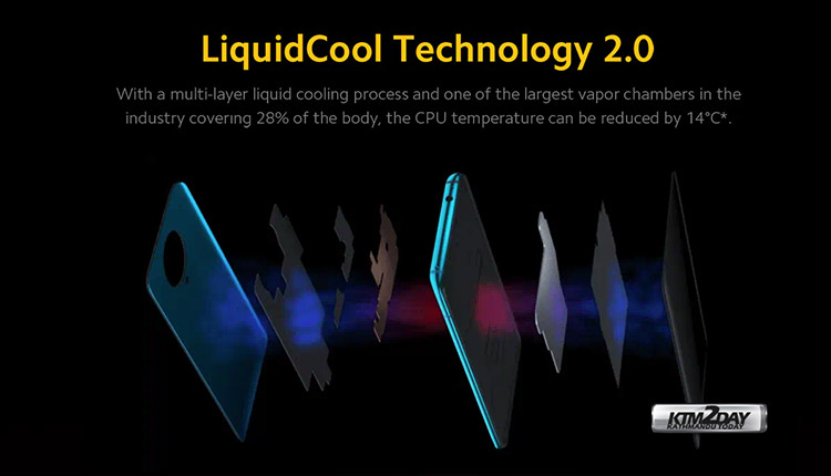 Poco F2 Pro LiquidCool Technology 2