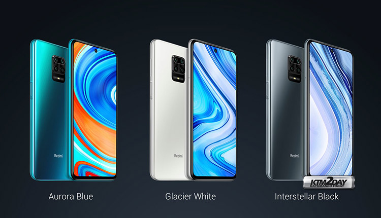 Redmi note 9 pro max Color options