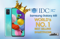 Samsung Galaxy A51 is the world's No. 1 smartphone