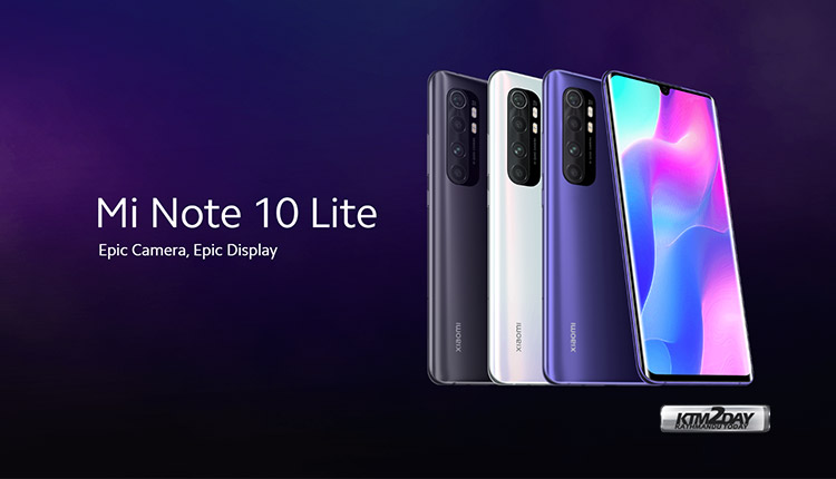 Xiaomi Mi Note 10 Price in Nepal