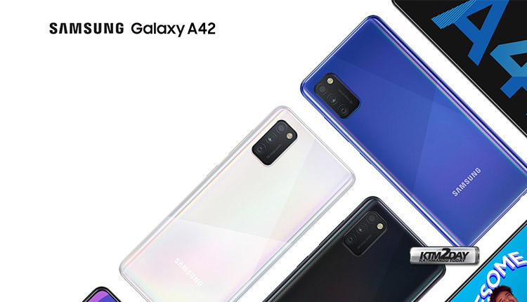 Samsung Galaxy A42 Price in Nepal