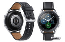 Samsung Galaxy Watch 3 on official renders shows a Steel case, Control Buttons and Leather Strap