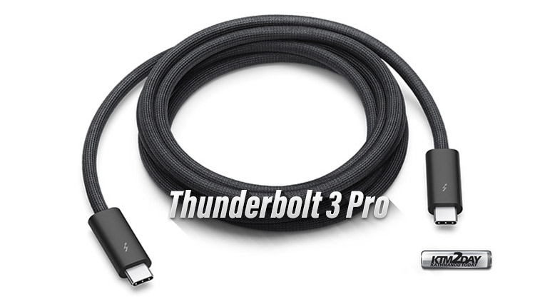 Apple Thunderbolt 3 Pro cable
