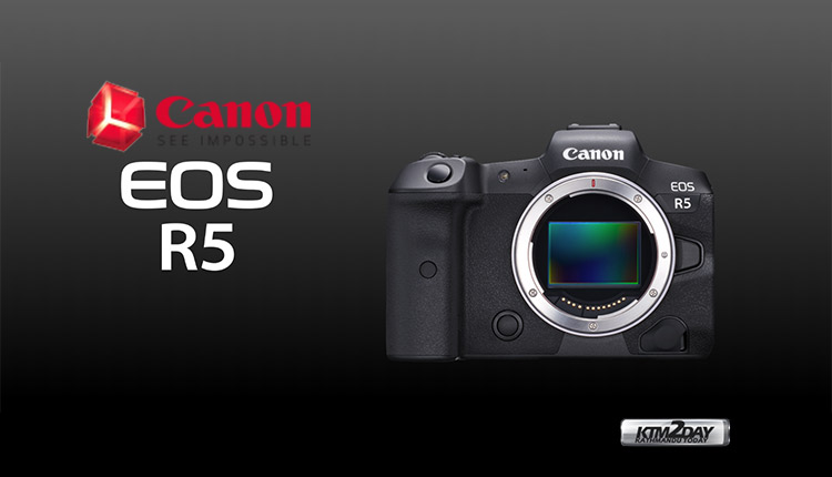 Canon EOS R5 Price in Nepal