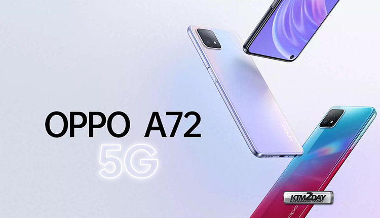 Oppo A72 5G Price in Nepal