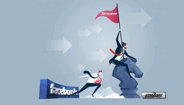 Tencent overtakes Facebook