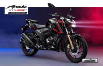 TVS Apache RTR 200 4V new ABS variant launched in Nepali market