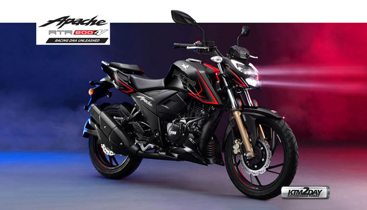 TVS Apache RTR 200 4V BS6 Price in Nepal