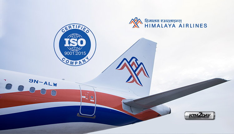 Himalaya-Airlines-ISO-9001-2015