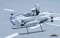 Skydrive tests world's smallest flying car with pilot