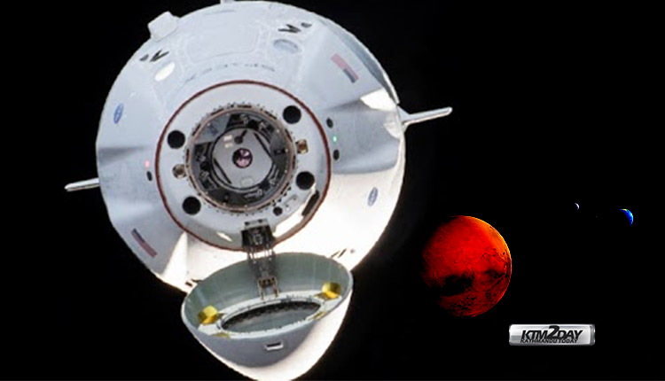 SpaceX Mission Mars