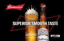 Budweiser, American-style Lager now locally brewed in Nepal