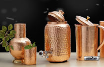 Know the Health Benefits of Drinking Water from Copper Pitcher