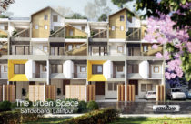 The Urban Space : European Style Housing with Gas Pipeline and Central Heating