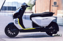 Husqvarna unveils its first electric scooter - Vektorr