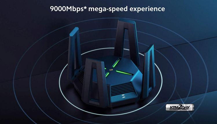 Mi Router AX9000 speeds