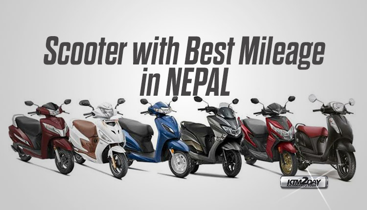Scooter with Best Mileage in Nepal