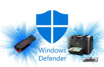 Windows Defender now protects your pen drives and printers